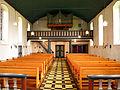 Egen, Kirche, Unbefleckte Empfängnis, Blick durch das Kirchenschiff auf die Orgel 2.jpg