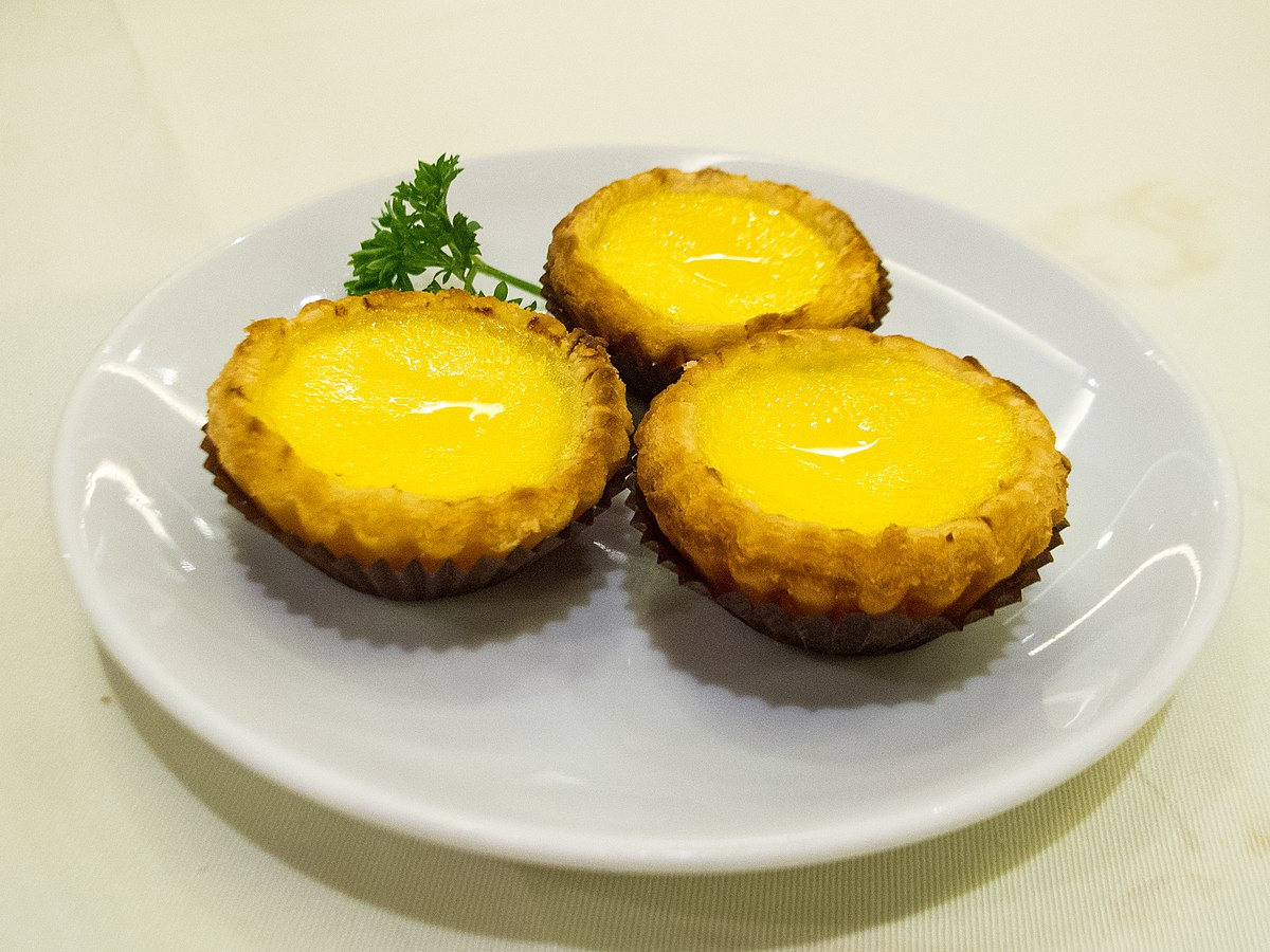 egg tart wikipedia