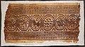 Egitto copto, frammento con medaglioni, VI-VII secolo.jpg
