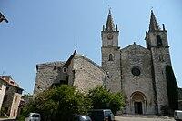 Eglise à Goudargues 2.JPG
