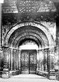 Eglise - Portail de la façade ouest - Buxières-les-Mines - Médiathèque de l'architecture et du patrimoine - APMH00018094.jpg