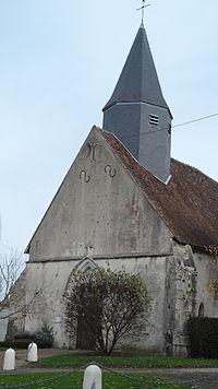 Eglise de Saint-Martin-d'Ordon (Yonne) France.JPG