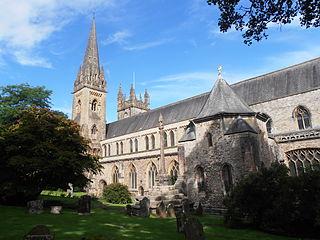 Llandaff Cathedral Church in Cardiff, Wales