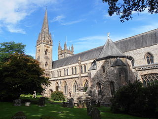 Church in Cardiff, Wales