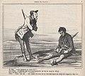 Eh! bien.... as-tu l'intention de rester là?...., from Croquis de Chasse, published in Le Charivari, November 4, 1859 MET DP876792.jpg