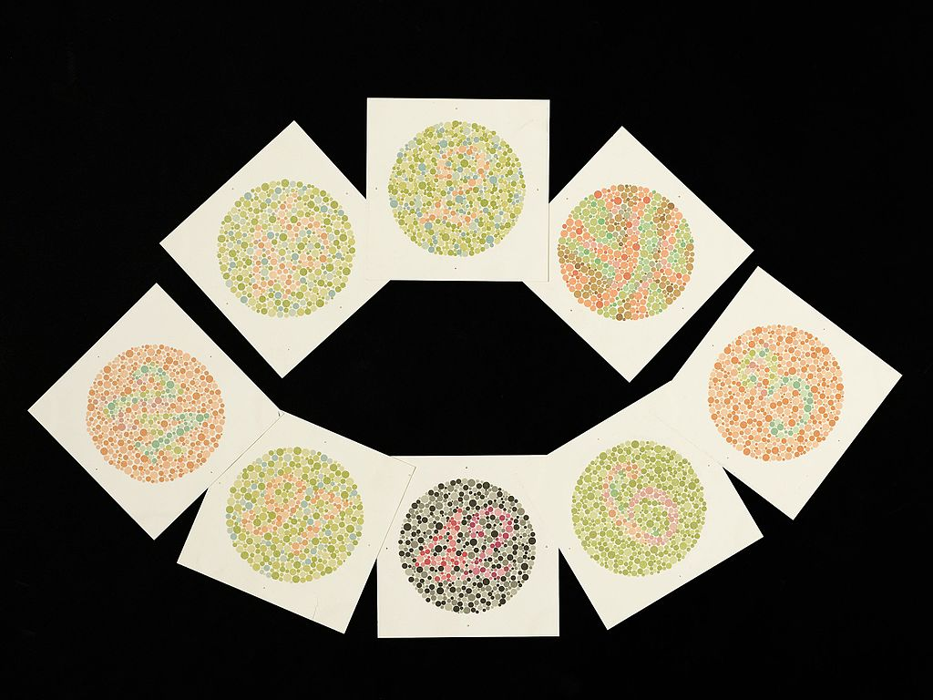 File Eight Ishihara Charts For Testing Colour Blindness