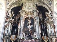 Einsiedeln Abbey Cathedral Church back chapel .jpg