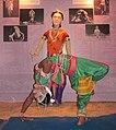 Ekapaada of Gotipua Dance by Bibhuti Bhusan Champati.jpg