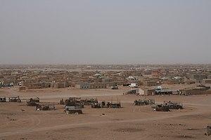 Sahrawi refugee camps - El-Aaiún refugee camp.