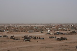 Sahrawi refugee camps collection of refugee camps set up in the Tindouf Province, Algeria