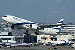 El Al Israel Airlines, Boeing 777-258(ER), 4X-ECB (16698939629).jpg