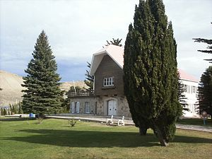 Comodoro Rivadavia - The Huergo Chalet, built in 1919, hosted numerous official gatherings