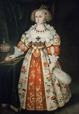 1638 in Sweden - Elbfas - Queen Christina as a Child