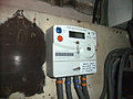 Electric meter -Broomfield Road, Coventry, England-16Jan2014.jpg