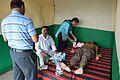 Electrocardiogram - Health Check-up Camp - Howrah Swamiji Sangha - Dumurjala - Howrah 2015-04-12 7685.JPG
