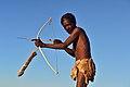 Elia Fester, Kalahari Khomani San Bushman, Boesmansrus camp, Northern Cape, South Africa (20533548212).jpg