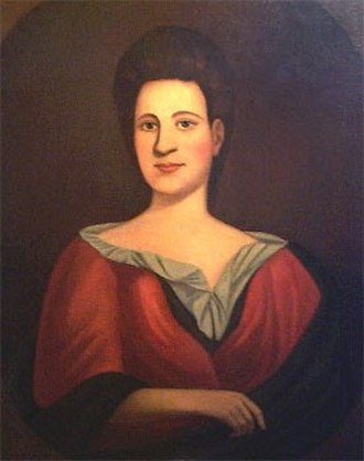 Henry Darnall - Elinor Hatton Darnall, wife of Henry Darnall, approx 1662 (exact date unknown)