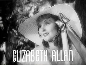 Elizabeth Allan - Elizabeth Allan in the trailer for Camille (1936)
