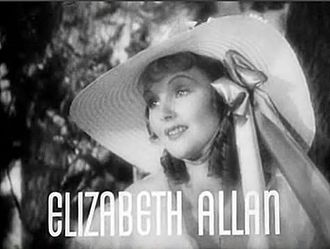 Elizabeth Allan - Elizabeth Allan in the trailer for Camille (1936)