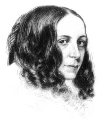 Elizabeth Barrett Browning - Portrait of Elizabeth Barrett in her youth