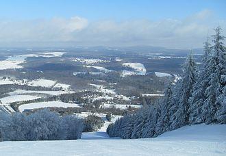 Endless Mountains - Endless Mountains, as seen from Elk Mountain