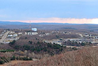 Elliot Lake - Elliot Lake seen from the Fire Tower Lookout