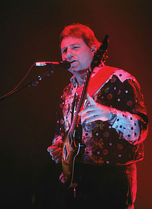 Greg Lake - Lake in 1992, performing with ELP
