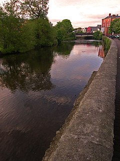 River Fergus Tributary of the Shannon in western Ireland