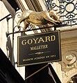 Enseigne Goyard, Rue Saint-Honoré, Paris 1.jpg