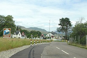 Entering Strathcarron on the A890 - geograph.org.uk - 1404475.jpg