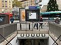 Entrée Station Métro Marcel Sembat Boulogne Billancourt 2.jpg