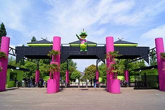 Walygator Parc - Image: Entrance of Walygator Parc