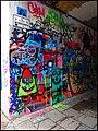 Entrance to Werregarenstr in Gent - a Public Graffiti Zone - panoramio.jpg