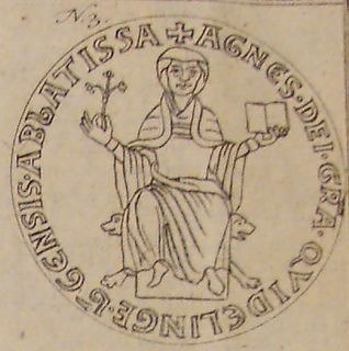 Agnes II, Abbess of Quedlinburg Princess-Abbess of Quedlinburg