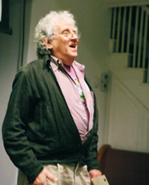 Eric Salzman - Salzman at the Cell Theater in 2011 for the Center for Contemporary Opera atelier of his opera, Big Jim and the Small-Time Investors.