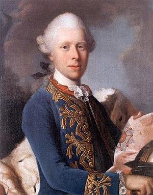 Ernest II, Duke of Saxe-Gotha-Altenburg - Image: Ernst II 1775