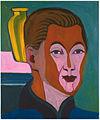 Ernst Ludwig Kirchner - Kopf des Malers (Selbstbildnis) 1925.jpg