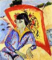 Ernst Ludwig Kirchner Erna mit Japanschirm.jpg
