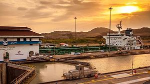 Panama Canal locks - Miraflores locks