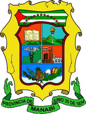 Manabí Province - Image: Escudo Manabi