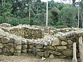 Espiritu Pampa Archaeological site - restored house.jpg