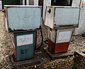 Essex England garage forecourt old fuel pumps Henham.jpg