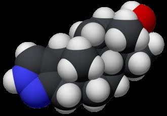 Stanozolol - Image: Estanozolol 3D CPK