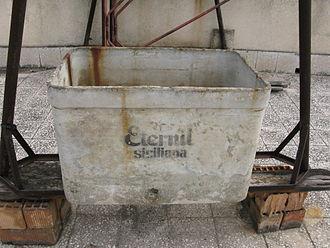 Eternit - Old eternit water tank