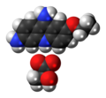 Ethacridine lactate 3D spacefill.png