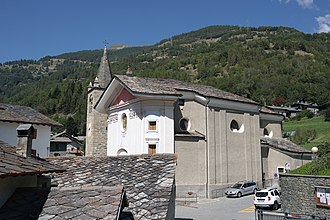 Etroubles - the Parish Church