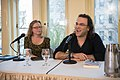 European Voices A Reading & Conversation with Christos Ikonomou and Karen Emmerich (25961037744).jpg
