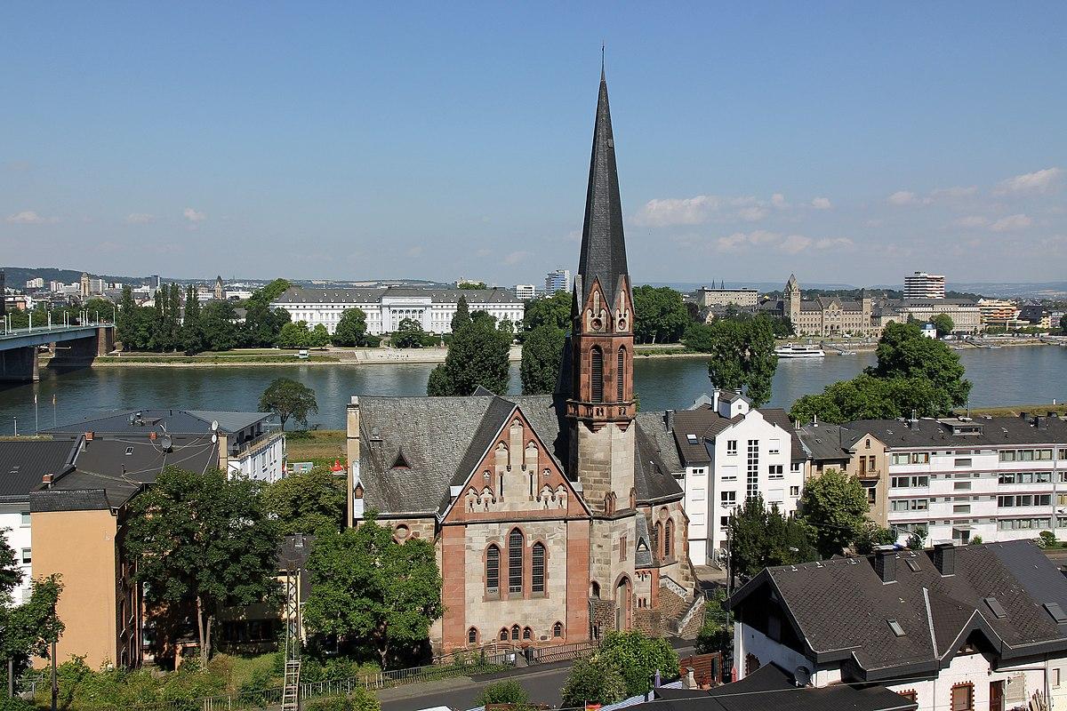 Evangelische Kirche Koblenz-Pfaffendorf - Wikipedia