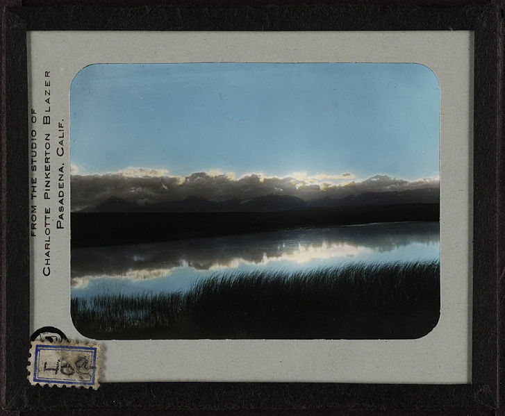 File:Evening sky and river near Blackfeet camp. 40a.jpg