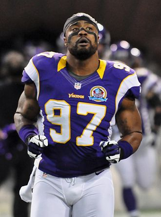 Everson Griffen - Griffen with the Minnesota Vikings in 2012